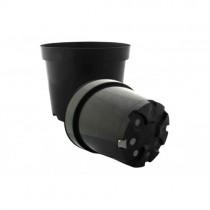 Горщик для розсади круглий LS15 - 5л чорний