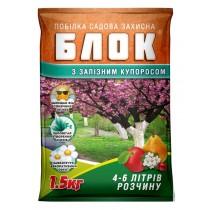 Суха садова побілка БЛОК з Залізним купоросом 1,5кг