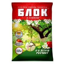 Суха садова побілка БЛОК з глиною 1,5кг