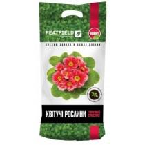 """Торф'яний субстрат """"Для квітучих рослин"""" """" PEATFIELD """" 6л."""