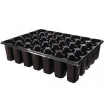 Касета пластикова на 35 комірок