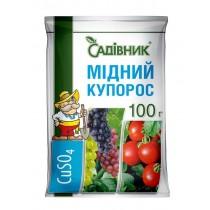 МІДНИЙ КУПОРОС 100г