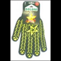 """4080 Рукавички """"Зірка""""  з ПВХ-малюнком."""