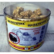 Щелкунчик парафін ПЕТ ТУБА 320г жовтий