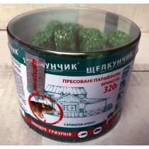 Щелкунчик парафін ПЕТ ТУБА 320г зелений