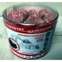 Щелкунчик парафін ПЕТ ТУБА 320г червоний