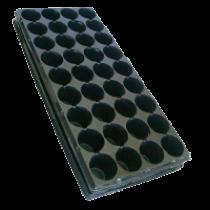 Касета пластикова з піддоном на 36  комірок