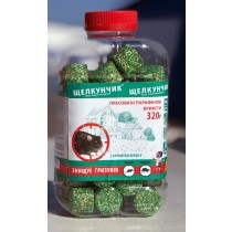 Щелкунчик парафін ПЕТ 320г зелений