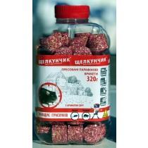 Щелкунчик парафін ПЕТ 320г червоний